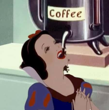 too much caffeine