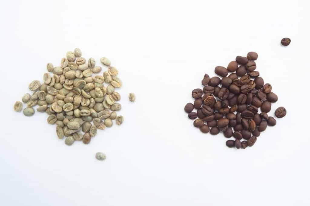 green decaf coffee