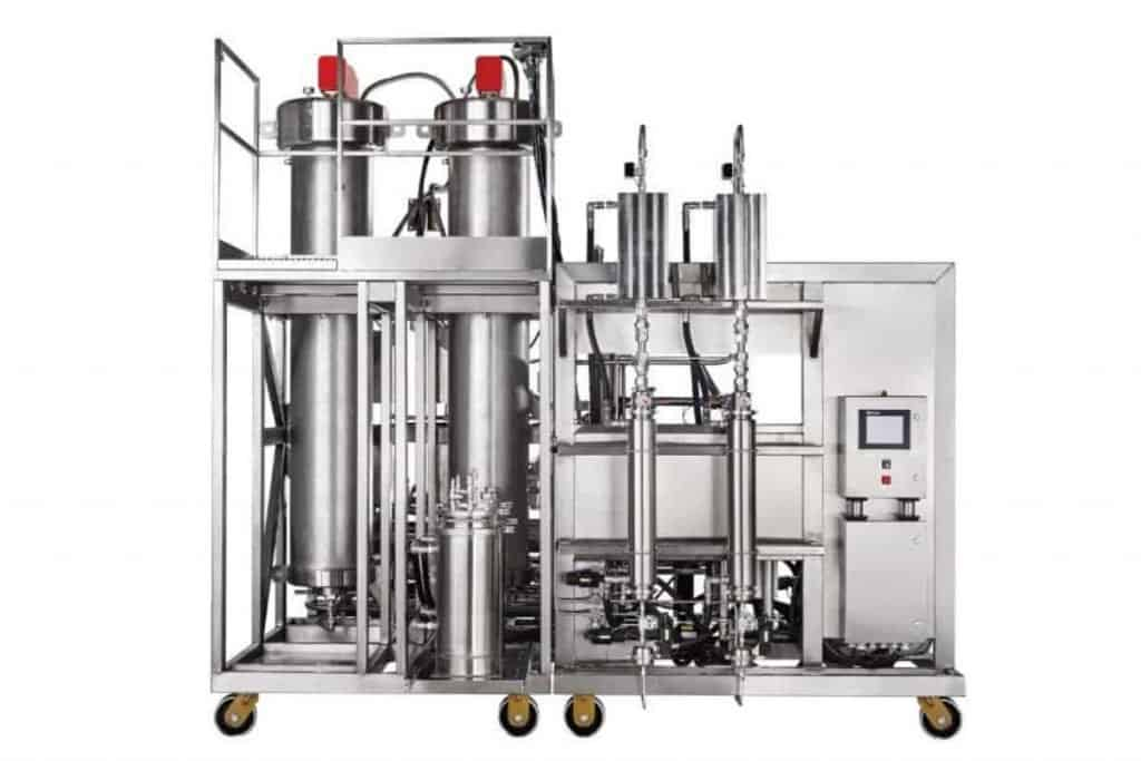 CO2 decaffeination machine