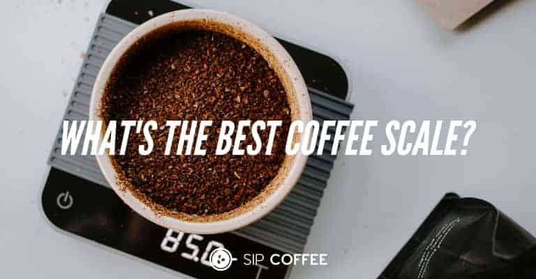 the perfect scales for coffee