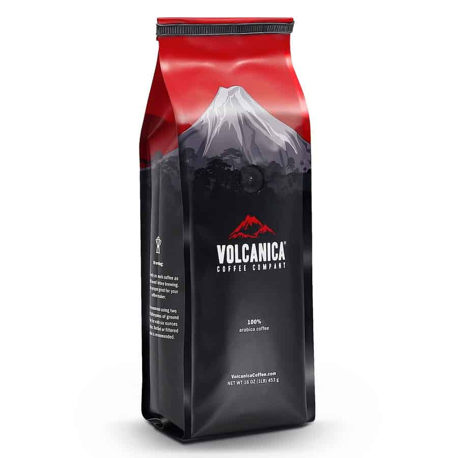 Volcanica Low Acid Coffee