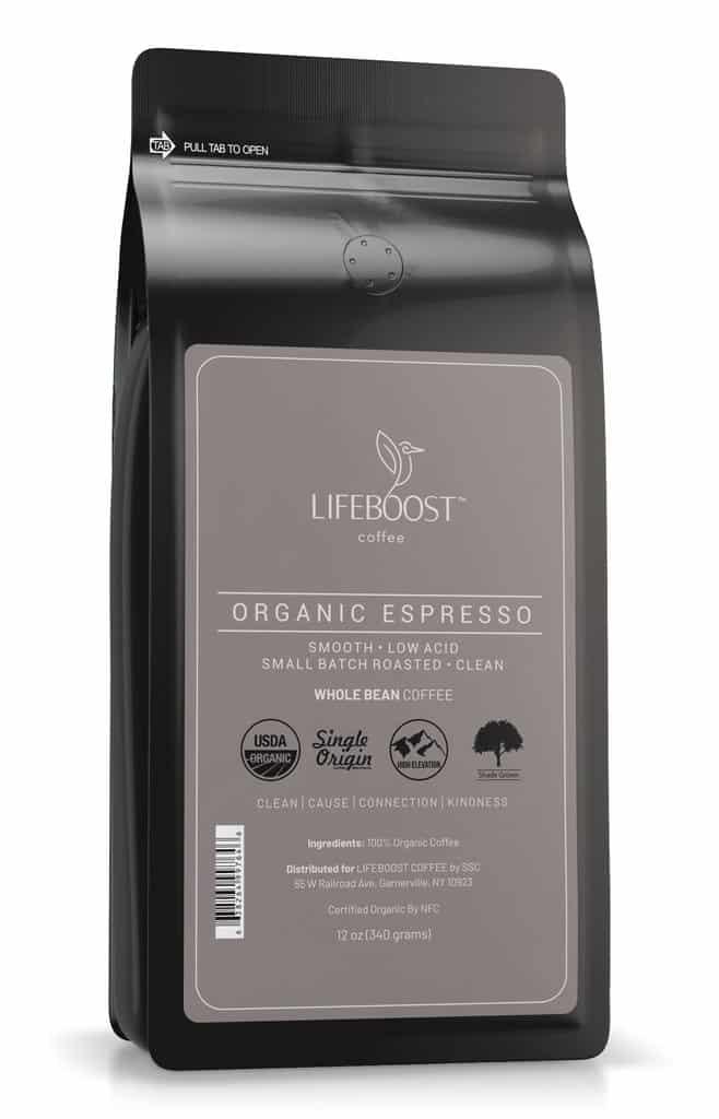 Lifeboost Organic Espresso