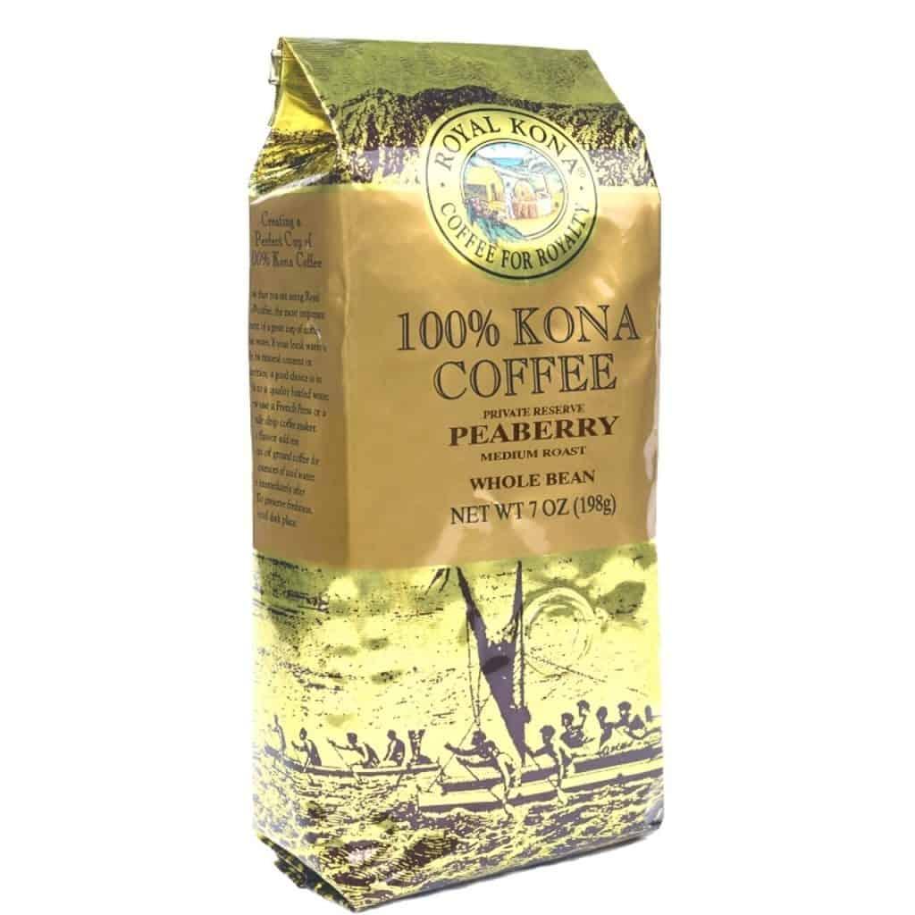 Hawaii Coffee Company - Peaberry Medium Roast 100% Royal Kona