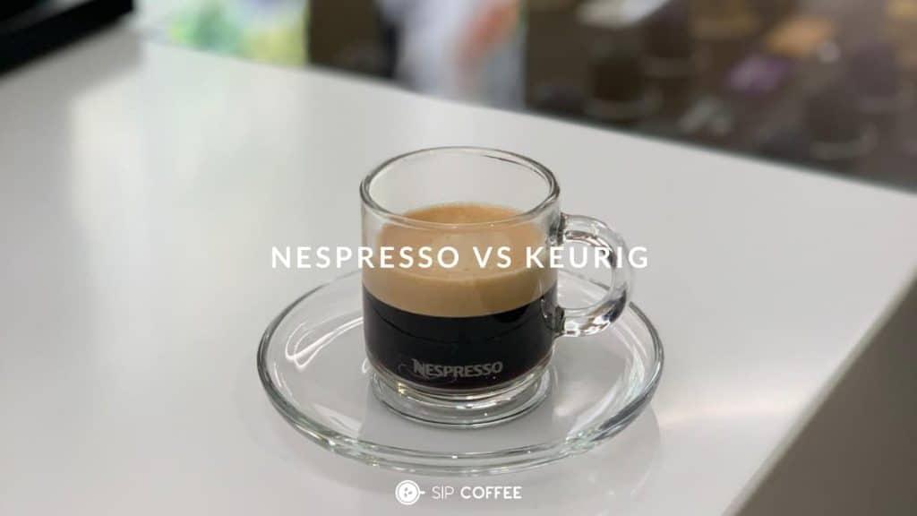Espresso pod keurig