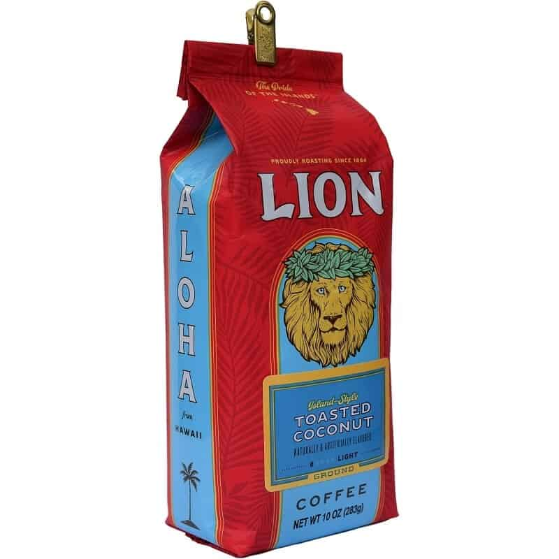 Toasted Coconut Coffee By Lion