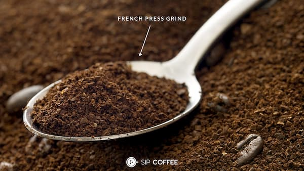 The French Press Grind Size
