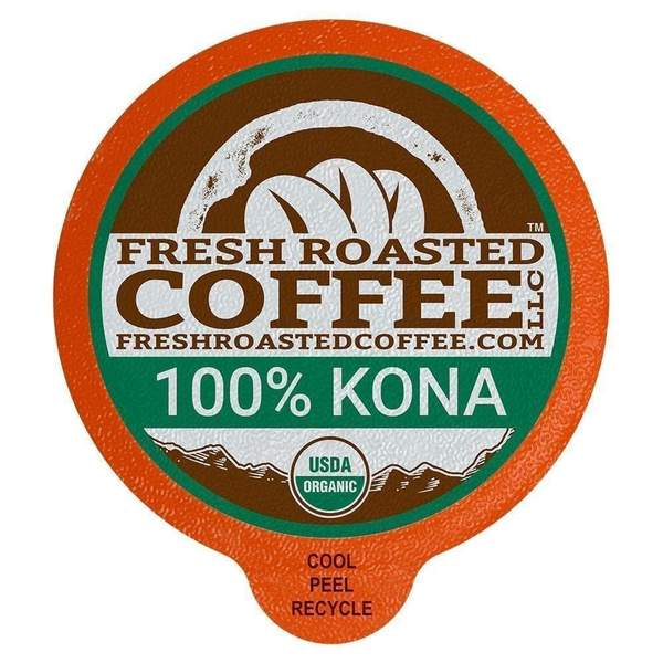 Organic 100% Kona Coffee Pods