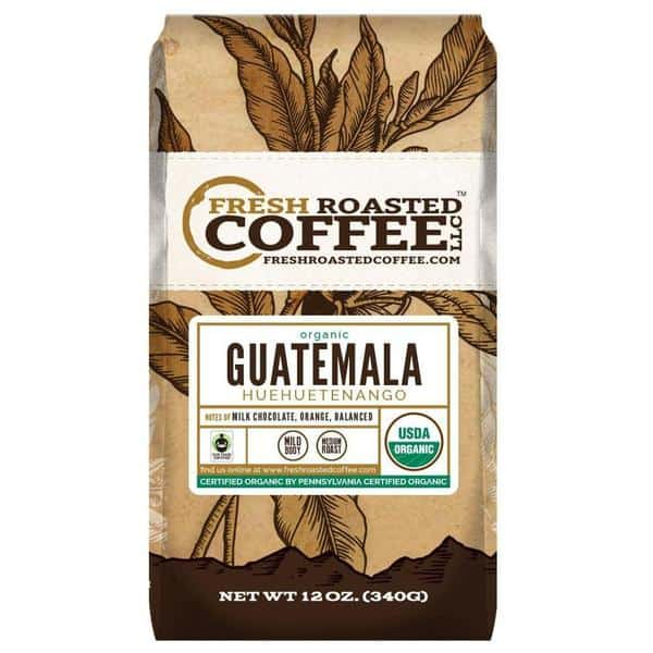 Organic Guatemala Huehuetenango Coffee
