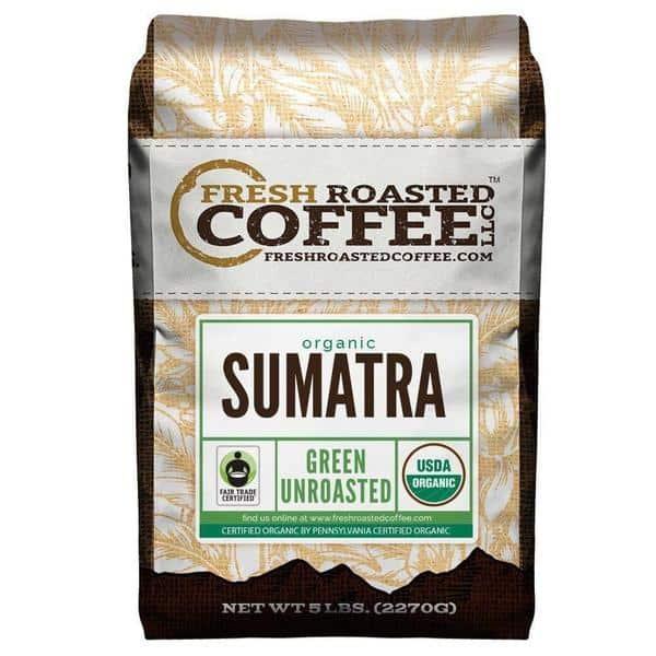 Organic Sumatra Green Coffee