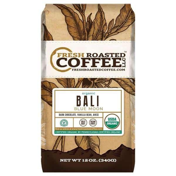 Organic Bali Blue Moon Coffee