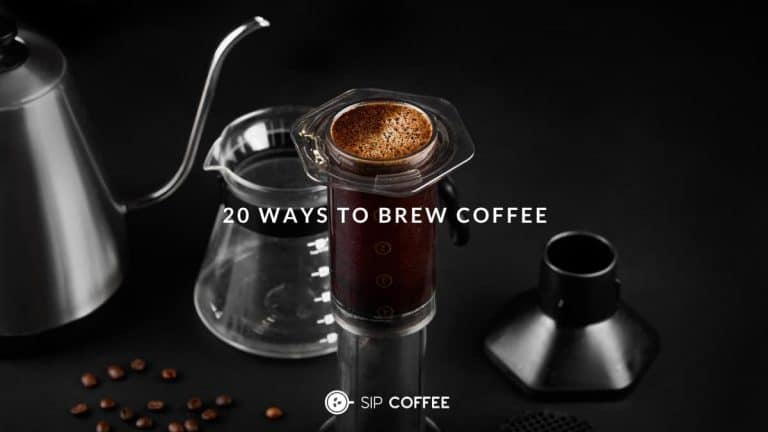 20 Ways To Make Coffee: A Complete Guide