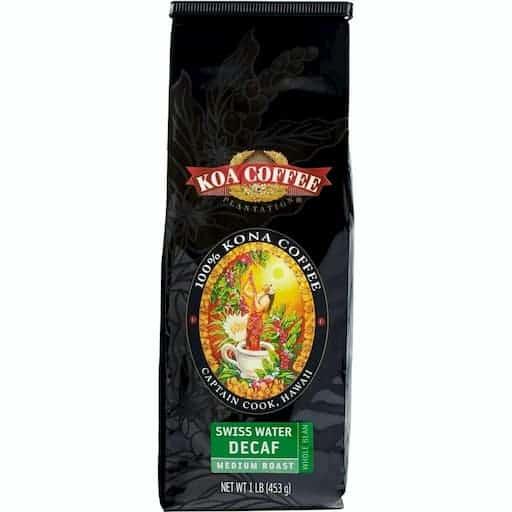 100% Kona Coffee Swiss Water Decaf by Koa