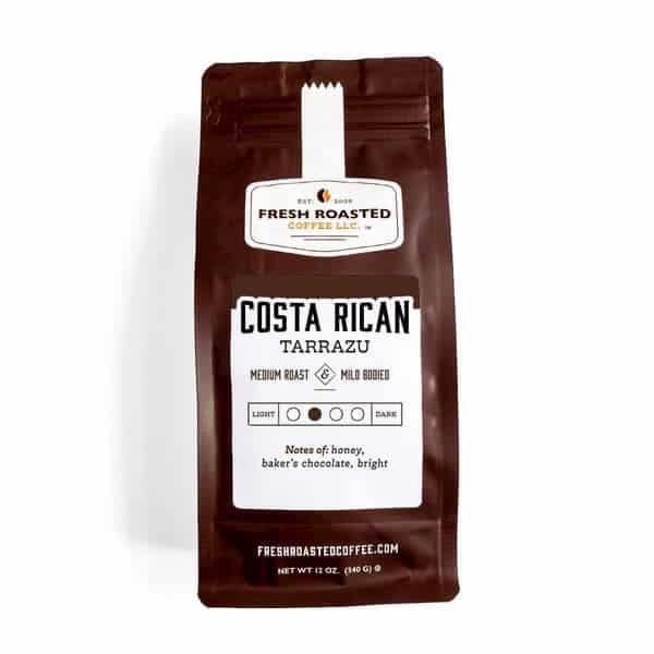 Costa Rican Tarrazu Coffee | Fresh Roasted Coffee LLC
