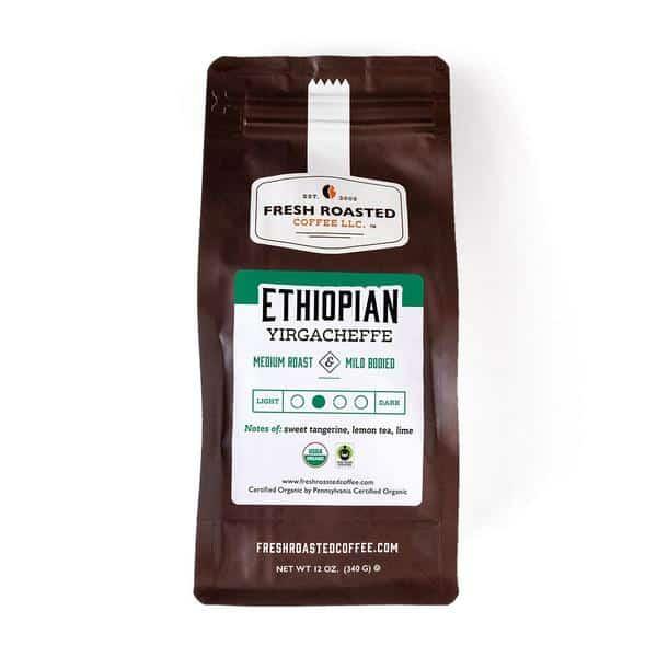 Organic Ethiopian Yirgacheffe Fair Trade