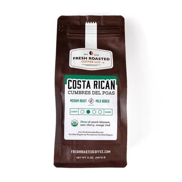 Organic Costa Rica Cumbres del Poas | FRC – Fresh Roasted Coffee