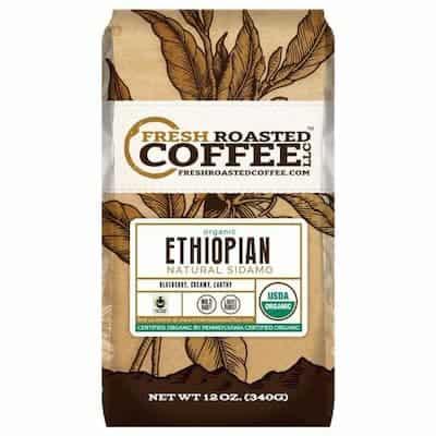 Organic Ethiopian Sidamo