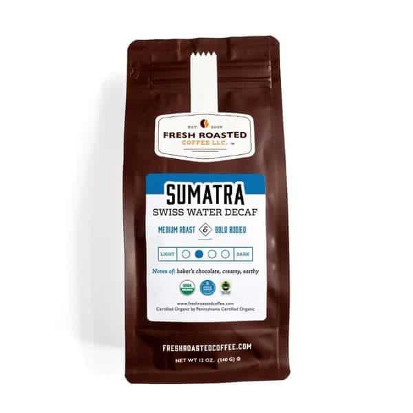 Organic Sumatra Swiss Water Decaf