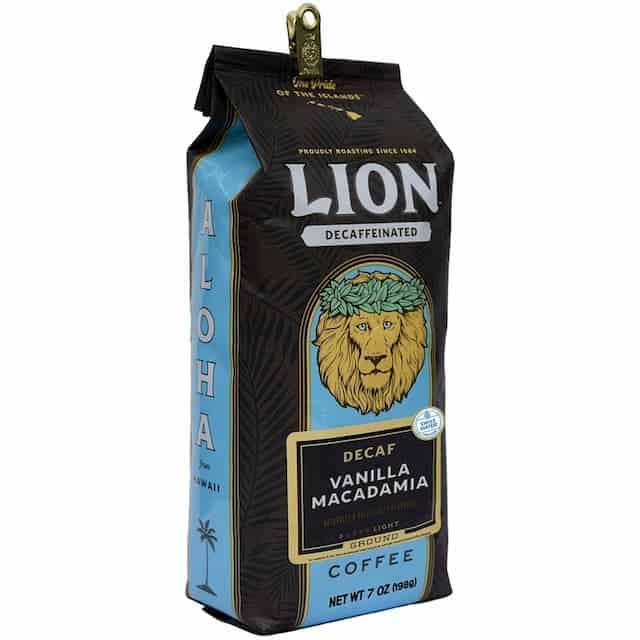 Decaf Vanilla Macadamia Nut By Lion