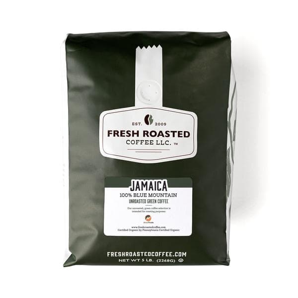 Unroasted 100% JBM Beans - Direct Trade