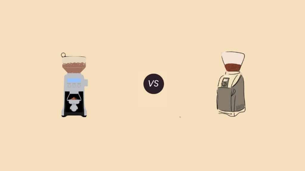 baratza vs Breville