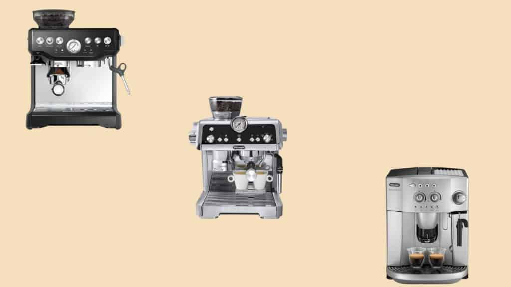 machines for espresso with grinders