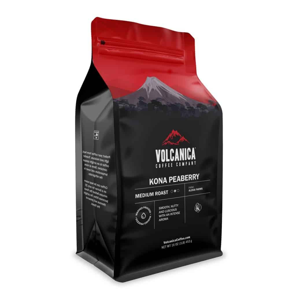 Volcanica Coffee Peaberry Kona - Gran Reserve 16 oz