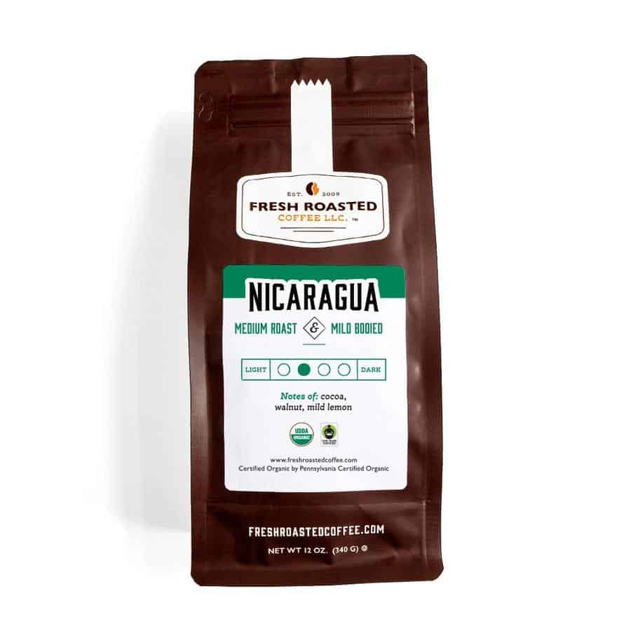 Organic Nicaragua Coffee - Fair Trade | Fresh Roasted Coffee LLC