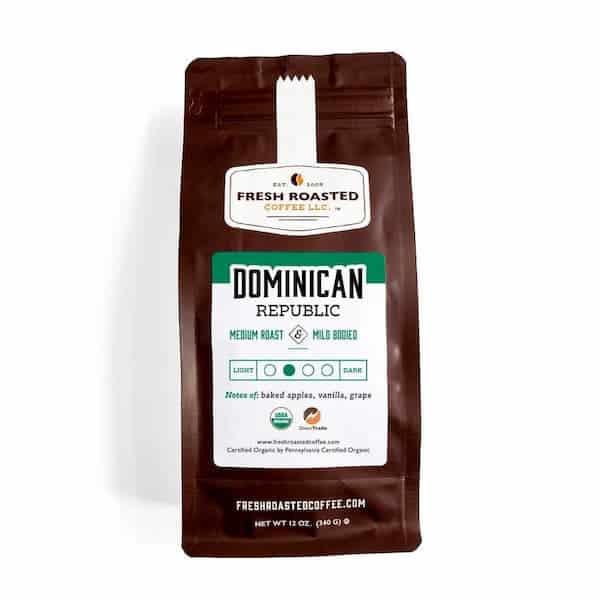Organic Dominican Republic Whole Bean Coffee - Direct Trade | Fresh Roasted Coffee