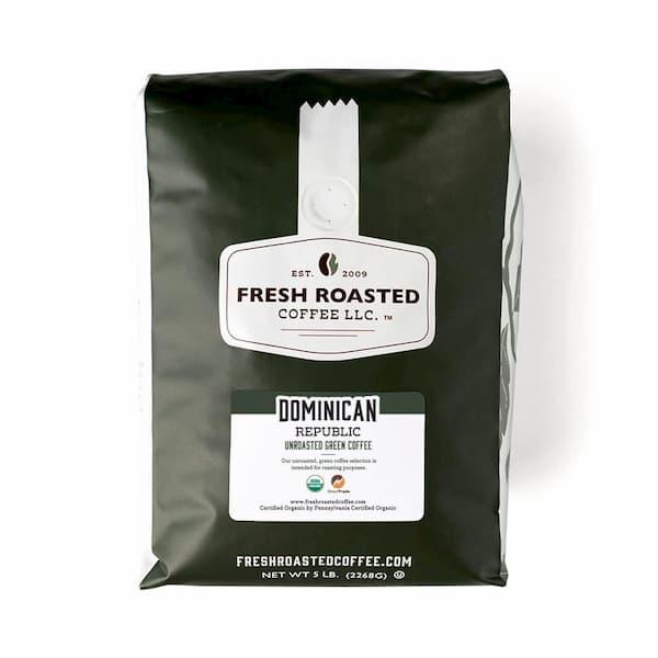 Unroasted Organic Dominican Republic Green Coffee  |  Fresh Roasted Coffee