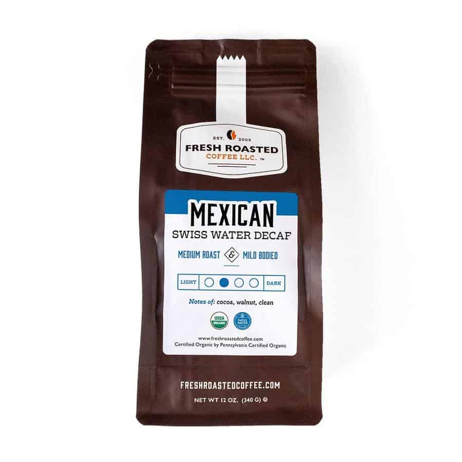 Organic Mexican Swiss Water Decaf Coffee