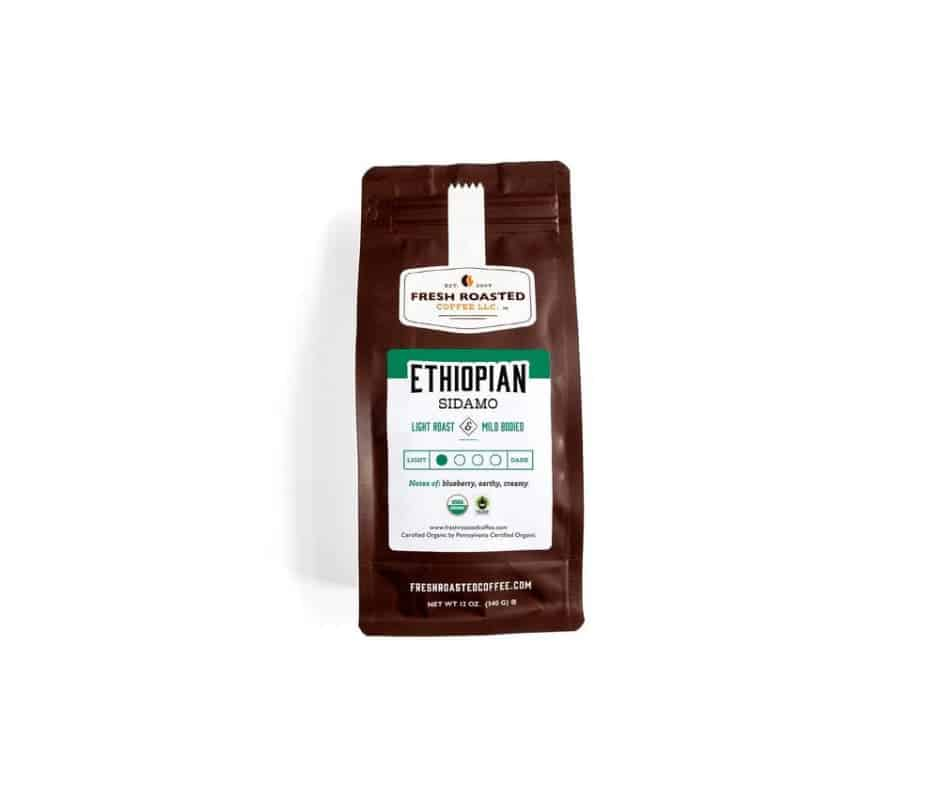 Ethiopian Sidamo Guji Coffee