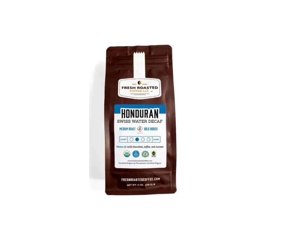 Honduran Swiss Water Decaf Coffee - FTO, RFA | Fresh Roasted Coffee