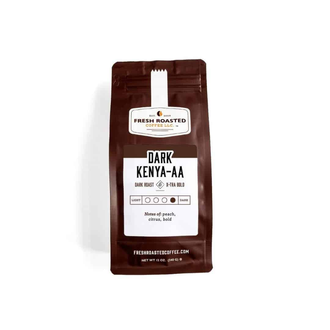 Single Origin Dark Kenya AA   Fresh Roasted Coffee