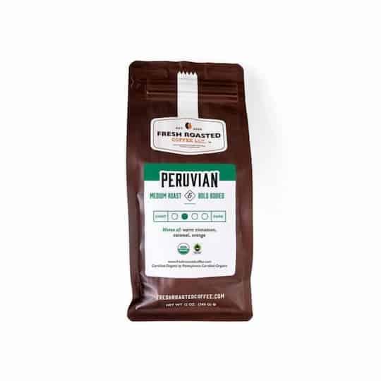 Coffee Peru Medium Roast | Fresh Roasted Coffee