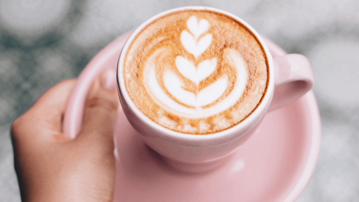milky espresso