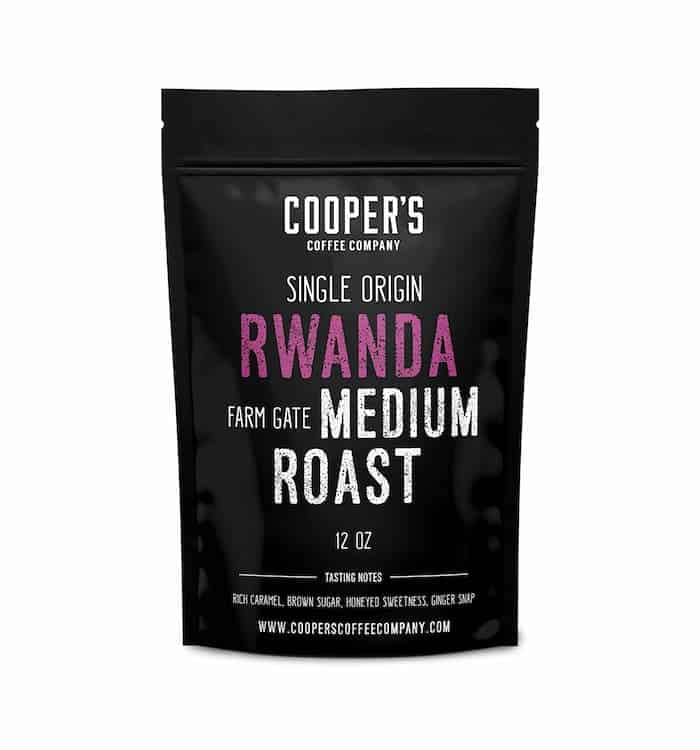 Coopers Cask Coffee - Rwanda Medium-Light