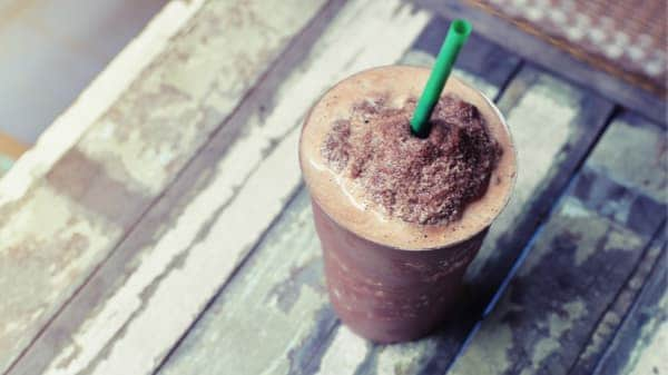 iced frappe
