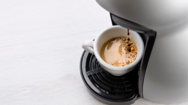 k cup shot