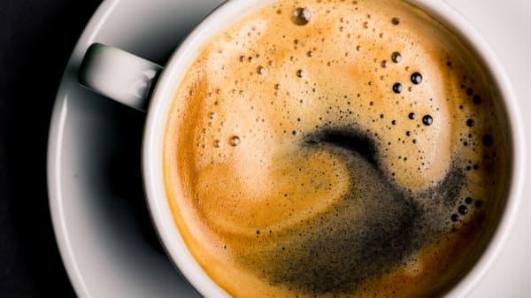 large black coffee