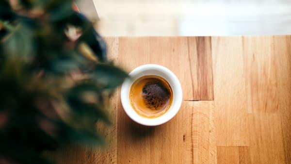 single espresso cup