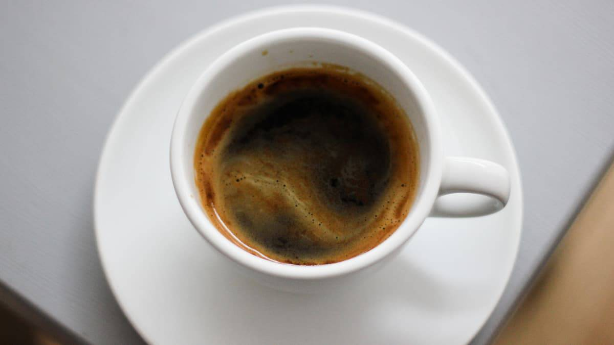 americano in a cup