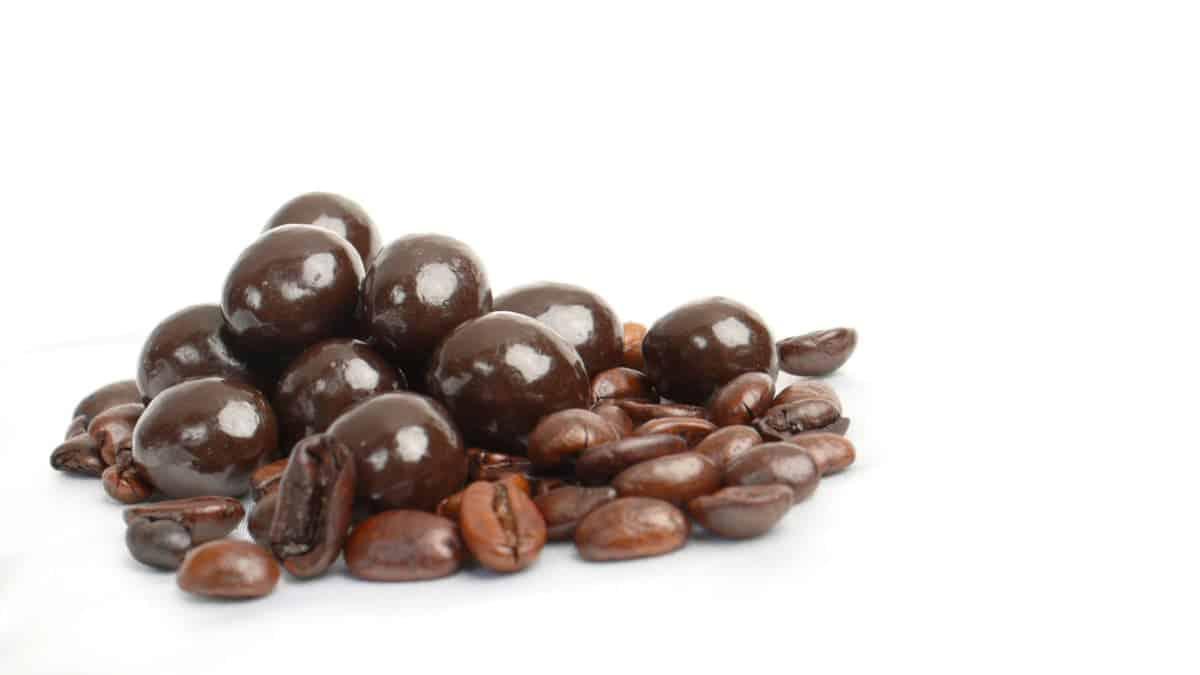 choc coffee bean