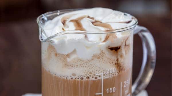 corn syrup creamy coffee