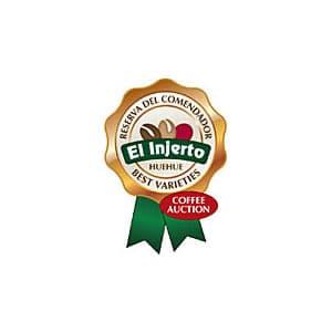 el injerto coffee auction badge