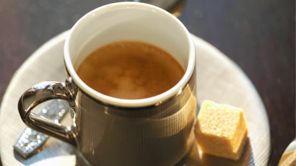 espresso and sugar