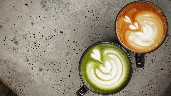 flavored espresso lattes