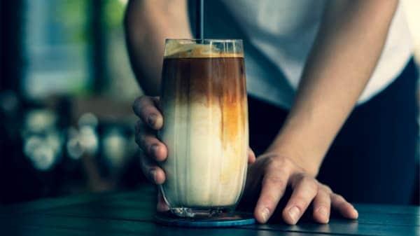 milk cold brewed coffee