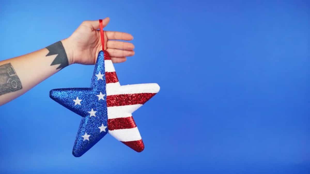 US flag Utah