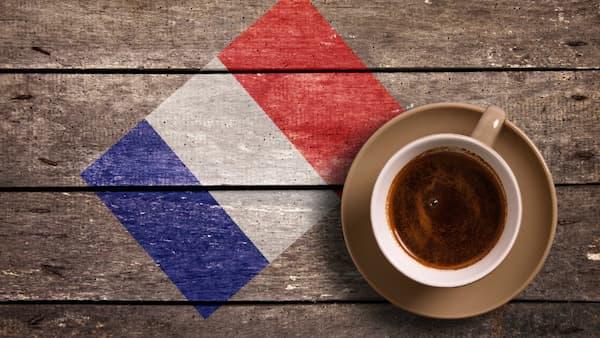 french flag coffee