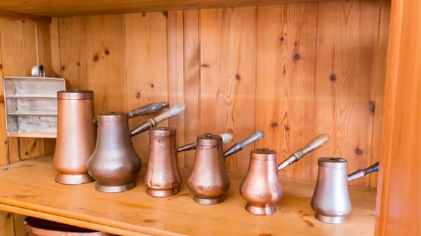 range of ibrik pots